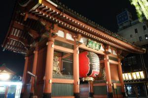 隅田川花火大会 浅草寺 見える