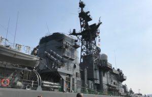 東京みなと祭 護衛艦 体験乗船