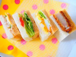 サンドイッチ 弁当 ピクニック