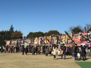 神宮外苑 いちょう祭り 画像