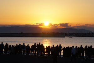 江ノ島 初日の出 場所