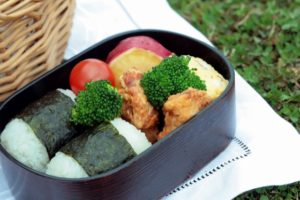ピクニックデート お弁当箱