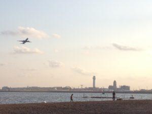 城南島海浜公園 潮干狩り