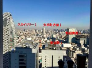 スカイラウンジオーロラ 評判 新宿