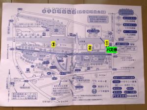 幸手 桜 地図