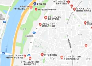 隅田川花火大会 東白鬚公園