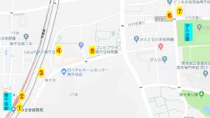 隅田川花火 汐入公園 屋台