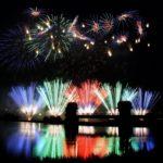 調布花火大会の稲田堤の場所取りの時間や屋台とトイレの情報