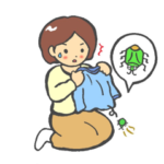 洗濯物に虫がつく時の対策!ベランダの外干しに役立つグッズ